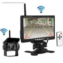 Atrás del Vehículo de vídeo inalámbrica de 7pulgadas cámara de visión trasera Digital