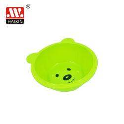 Bebé de plástico de forma cuadrada de las cuencas de lavado el lavado de la cuchara para niños