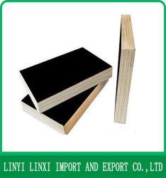 Dynea película enfrentados de madera contrachapada de color marrón/negro Film enfrenta el contrachapado para la construcción