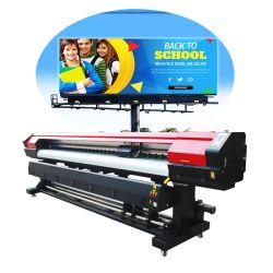 Stampante utilizzata di piccola dimensione di ampio formato di vendita XP600 di alta risoluzione 4 dell'autoadesivo su ordinazione caldo di colore per stampa del segno