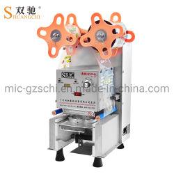 Sigillatore di plastica della tazza di carta della tazza di sigillamento della macchina del tè automatico della bolla