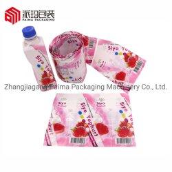 주문을 받아서 만들어진 인쇄된 플라스틱 물병을%s PVC/Pet/OPS 열수축 슬리브 레이블