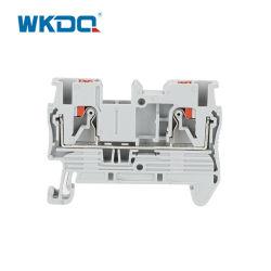 زنبركية التثبيت بحاجز DIN Push in Terminal Block PT 2.5