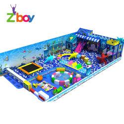 Venda por grosso de fábrica usado novo grande jogo de lazer coberta para crianças
