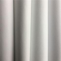Weiße Mikrofaser PU Vagan Leder für Sport Freizeit Freizeitschuhe