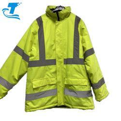 Инженер худи водонепроницаемый отражающей изоляцией мужчин Зимняя куртка Workwear выс. вязк безопасности