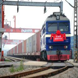 Porte à porte pour le transport ferroviaire de fret ferroviaire / expédition à partir de la Chine à l'Europe