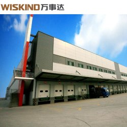 Industrielle Bereich-Stahlkonstruktion-Werkstatt-Gebäude mit der Hauptzelle angestrichen