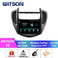 Witson Android 10 автомобильной навигации GPS DVD плеер для Chevrolet Trax 2014-2016 4 ГБ оперативной памяти 64Гб флэш-памяти большой экран в машине DVD плеер