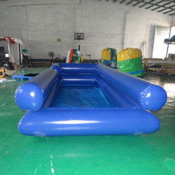Kundenspezifischer doppelte Schicht-Wasser-aufblasbarer Swimmingpool