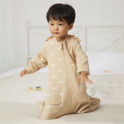 L'infante molle della tessile dei prodotti innovatori del bambino di modo copre gli elementi delle in-Azione del pagliaccetto dei vestiti
