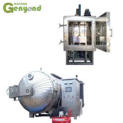 Vacío circular o cuadrado Fd Freeze-Dried Secador de congelación de la máquina de secado de frutas y verduras