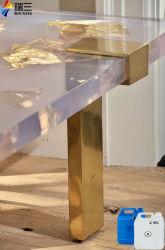 أثاث خشب [إبوإكسي] [رسن] لفن كريستال صافية