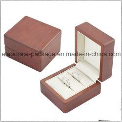 Пользовательские деревянные высокого качества окраски украшения свадебной/двойное кольцо ручной работы установите флажок Включить