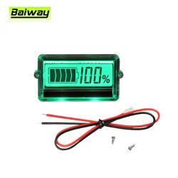Bw-Th01 Digital LCD 3s 12V saures Leitungskabel-Lithium-Batterie-Spannungs-Kapazitäts-Anzeiger-Messinstrument-Prüfvorrichtung