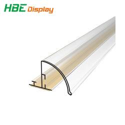 Cartão para prateleiras de PVC titular de preços faixa com fita adesiva