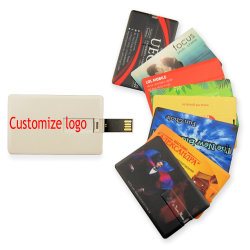 Kreditkarte vorbildlicher Speicher-Bank Memoria USB des USB-Blitz-Laufwerk-4GB 8GB 16GB