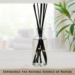 Aromatherapy wesentliches Öl-Ausgangsdauerhafte Büro-Luft-frischer Duft-Raum-Duftstoff-Schlafzimmer-Glasflaschen-REEDdiffuser (zerstäuber)