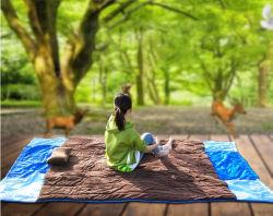Tutti in uno - coperta di picnic, sacco a pelo, Hammock di inverno con il panno morbido, staccato per il Hammock di estate