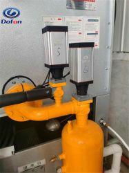 電磁弁を接続する産業用冷凍低温貯蔵