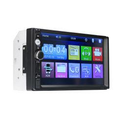 2 de VideoSpeler van de Auto van DIN van het Scherm van de Aanraking van de Duim Speler de 7 Van verschillende media van de Speler MP5 met Camera van de Mening van de Steun van Bluetooth van de FM USB de Achter