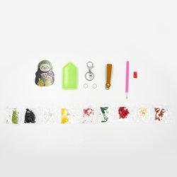 DIY の昇進のギフトの教育おもちゃの注文のカートゥーンのかわいいペンギンアクリル キーリング