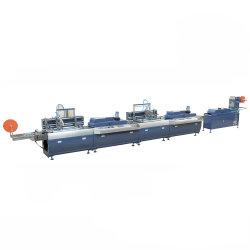 (JD-3002) ماكينة طباعة الملصقات على الشريط من الفولاذ المقاوم للصدأ متعدد الألوان لأسطوانة لحافة الشاشة من الحرير للقطن وحبل العنق والشريط المرن