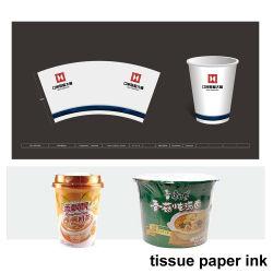 Inchiostro per stampa a base di acqua gravure per tazze di carta in PE doppio