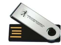 Металлические пропагандистские Custom флэш-накопитель USB в стиле Ммт Ultral тонкие U053/Mt22
