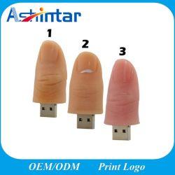 De Aandrijving van de Flits van de Duim USB van de Schijf van de Flits Pendrive van de Vingers USB van de Stok van het beeldverhaal USB