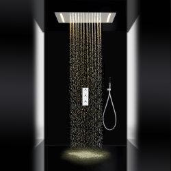 現代的な浴室LEDの小雨のシャワーシステム