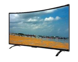 Slimme TV van de gebogen LEIDENE van het Scherm Televisie van TV 4K 55 Duim