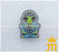 Personalizar el Zinc níquel chapado fundido esmaltado duro Badge
