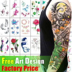 Custom Design Hot 3d Gold Silver Diamond Sieraden Flash Crystal Cartoon Tattoo Paper Face Eye Nails Water Proof Transfer Metallic Temporary Body Tattoo Stickers