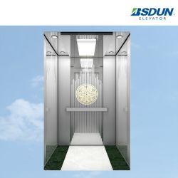 ステンレス鋼ミラーのホーム最もよい価格の販売のためのパノラマ式の別荘の病院の観察の乗客のエレベーター