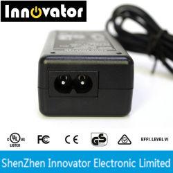 Ce test UL 12V 2A 24W CA Adaptateur d'alimentation CC pour alimentation LED/Affichage LED/STB/UAV