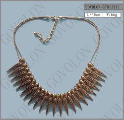 Collier de bijoux en alliage de femmes