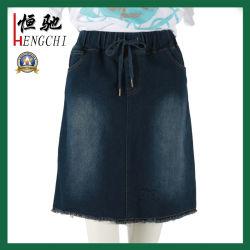 La mujer denim shorts faldas Damas Blue Jeans Denim falda