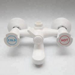 De plastic Duurzame Kranen van de Mixer van het Hete en Koude Water van de Tapkraan van de Douche voor de Badkuip van de Badkamers
