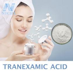 99% белый порошок Tranexamic кислоты для косметических кожу освещением CAS: 1197-18-8