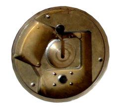 최신 위조된 CNC에 의하여 기계로 가공되는 단단한 금관 악기 위조