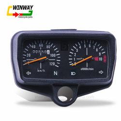 Ww-7210 CG125 Instrument, 12V, Pièces de moto de tachymètre ABS