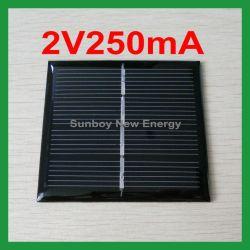 2V250ma petite PV Module époxy