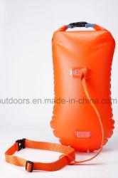 Sacchetto asciutto della varia di colori del PVC di campionato boa gonfiabile di nuoto