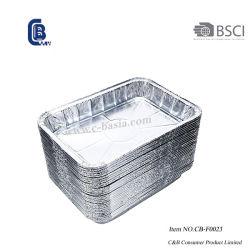 Einweg-Half Size Aluminiumfolie Tief Backen Dampf Tischbehälter, Lebensmittelverpackung Takeway Pfanne, Küchenutensilien, Kochgeschirr Tablett