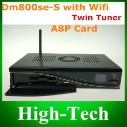 Récepteur satellite numérique DM800se trois dans un Set Top Box récepteur satellite DVB avec WiFi, récepteur HD