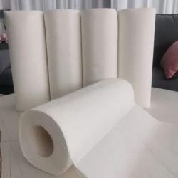 Les fournisseurs chinois cuisine serviette de papier rouleau de papier de soie de cuisine de haute qualité serviette en papier jetables Cuisine de nettoyage