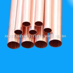 Tubo diritto del tubo di rame per gas medico