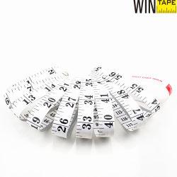 1.5Meter sastre de PVC blanco cinta métrica para regalo promocional