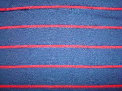 Fios de lã pura Tingidos Stripe único tecido Jersey